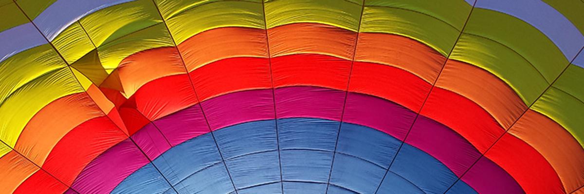 Couleurs de la montgolfière Aerfun