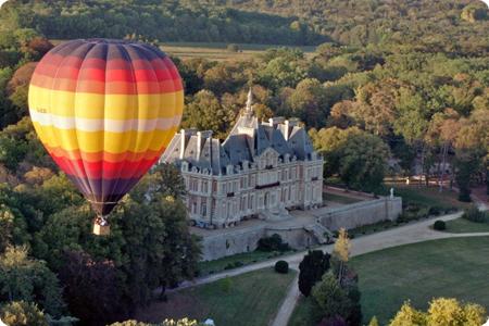 Montgolfiere Chateau Baronville