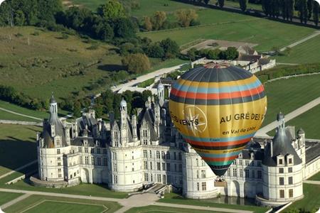 montgolfiere chateau loire