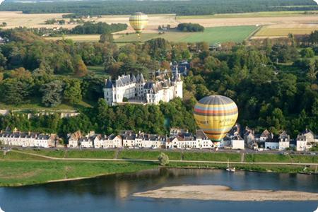 Montgolfiere Chateau De Chaumont